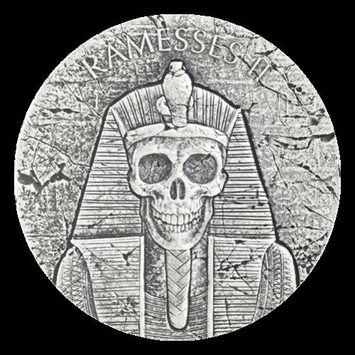 2 oz Silbermünze ägyptische Reliktserie | Pharao Ramses II - Jenseits 2017