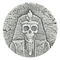 2 oz 2017 Egyptian Relic Series | Pharaoh Ramesses II - After Life Silver Coin