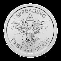 1 oz Warbird Love Silver Round