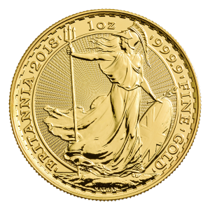 1 oz Goldmünze Britannia 2018