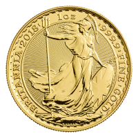 1 oz 2018 Britannia Gold Coin
