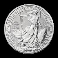 Moneda de Plata Borde Oriental Britannia 2018 de 1 oz