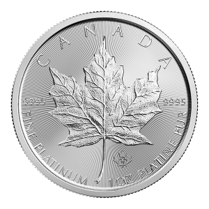 1 oz 2018 Canadian Maple Leaf Platinum Coin