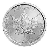 1 oz 2018 Canadisk Maple Leaf Platinamynt