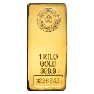 1 kg | Kilo | Royal Canadian Mint Gold Bar
