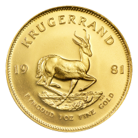 1 oz Goldmünze Krugerrand 1981