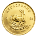 1 oz 1981 Krugerrand Gold Coin