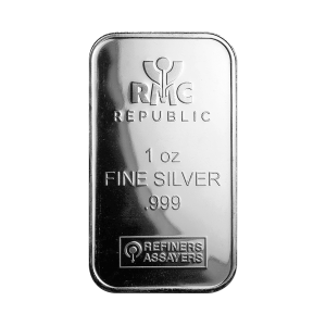 1 oz Republic Metals Corporation Silver Bar