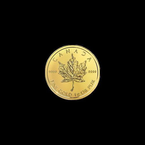 1 g 2018 MapleGram25 Single Gold Coin