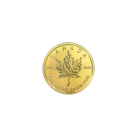 1 gram 2018 MapleGram25 Single Gold Coin
