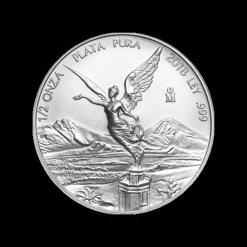1/2 oz 2018 Mexican Libertad Silver Coin