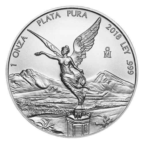 Moneda de Playa Libertad Mexicana 2018 de 1 oz