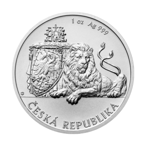 1 oz 2018 Niue Czech Lion Silver Coin