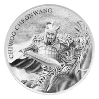 1 oz 2018 South Korean Chiwoo Cheonwang Silver Round
