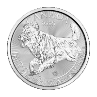 1 oz Silbermünze Raubtier Serie | Wolf - 2018