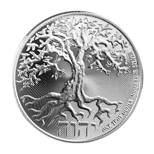 1 oz 2018 Niue Tree of Life Sølvmynt