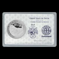 11.4 غرام من العملات الفضية الخاصة بدان شيكل