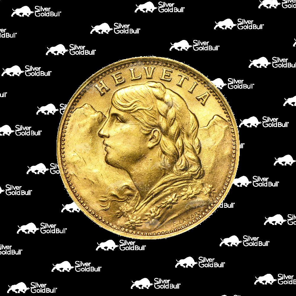 Italy Gold 20 Lire Avg Circ Random SKU #32687