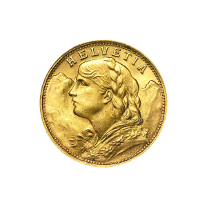 Random Year 20 Swiss Francs Gold Coin