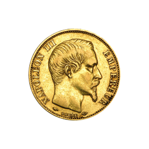 1852 -1870 Napoleon III 20 Franc French Gold Coin