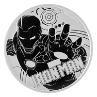 1 oz 2018 Iron Man Silver Coin