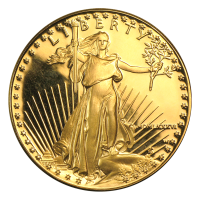 Moneda de Oro Proof Águila Americana 1986 de 1 oz