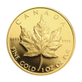 1 oz 1989 Commemorative Maple Leaf Gold Coin