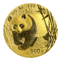 1 oz 2002 Chinese Panda Gold Coin