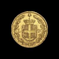 20 Lire Goldmünze Italien Zufallsjahr