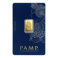 2.5 g PAMP Suisse Gold Bar