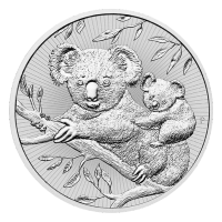2 oz 2018 Australian Koala Next Generation Piedfort Silver Coin