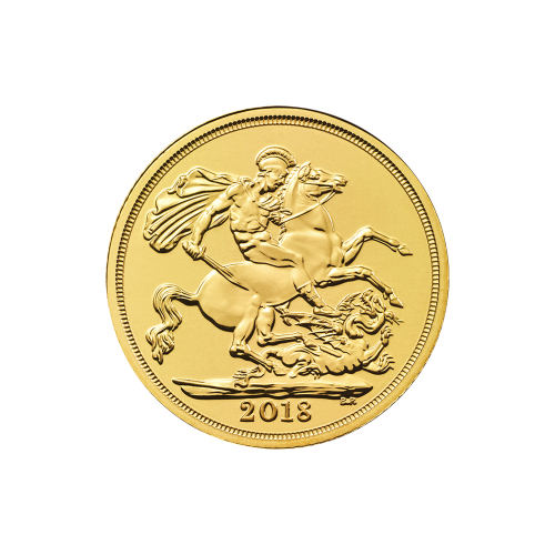 2018 Royal Mint Sovereign Gold Coin