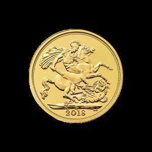 Goldmünze Sovereign Royal Mint 2018