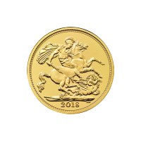 Goldmünze Sovereign Royal Mint 2018
