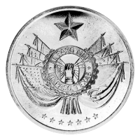 1 oz 1974 El Paso Mint World Trade Silver Round