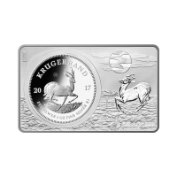3 oz 2017 50th Anniversary of the Krugerrand Coin Silver Bar