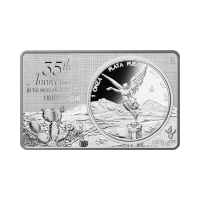 3 oz 2017 35th Anniversary of the Mexican Libertad Coin Silver Bar