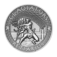 2 oz 2017 The Gladiators | Retiarius Sølvmynt