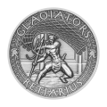 2 oz 2017 The Gladiators | Retiarius Silver Coin