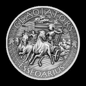 2 oz 2017 The Gladiators | Essedarius Silver Coin