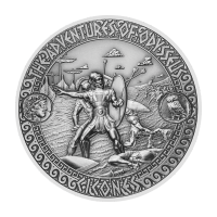 2 oz 2018 Adventures of Odysseus | Attack of the Cicones Silver Coin