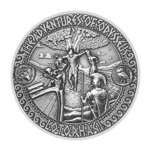 2 oz 2018 Adventures of Odysseus | Land of the Lotophagi Silver Coin