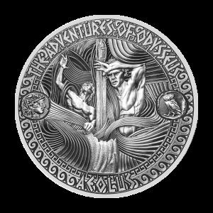 2 oz 2018 Adventures of Odysseus | Storm of Aeolus Silver Coin