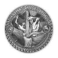 2 oz 2018 Adventures of Odysseus | Storm of Aeolus Silver Coin