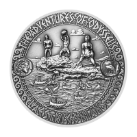 2 oz 2018 Adventures of Odysseus | Escape from Laestrygonians Silver Coin