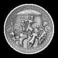 2 oz Silbermünze | Die Abenteuer von Odysseus - Insel der Sirenen 2018