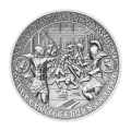 2 oz 2018 Adventures of Odysseus | Odysseus Return Silver Coin