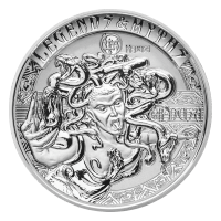 2 oz 2018 Legends and Myths | Medusa Silver Coin