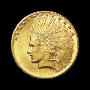 Random Year $10 Indian Eagle Gold Coin