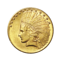 Random Year $10 Indian Eagle Gold Coin